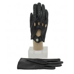 Gants Cuir D'Agneau Noir - Glove story