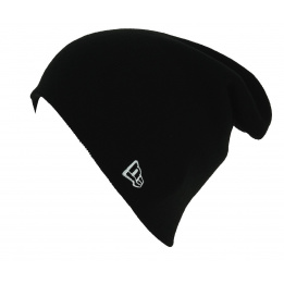 Bonnet Long Mixte Essential Knit Acrylique Noir - New Era