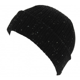 Bonnet Mixte Fisherman Cuff Acrylique Noir - New Era