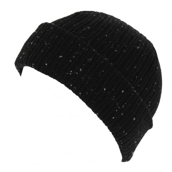 Bonnet Mixte Fisherman Cuff Acrylique Noir - New Era