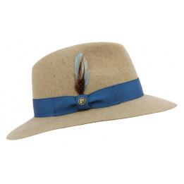 Chapeau Traveller SummerTime Feutre Laine Beige - Pierre Cardin