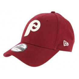 Casquette Strapback Philadelphie Flock Logo Rouge - New Era