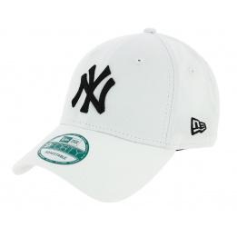 Casquette Baseball League Basic Strapback Yankees Of NY Blanc - New Era
