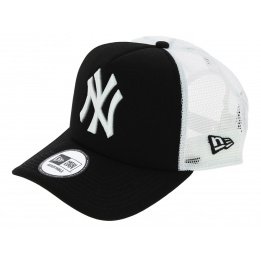 Casquette Trucker Clean Snapback NY Yankees Noir - New Era
