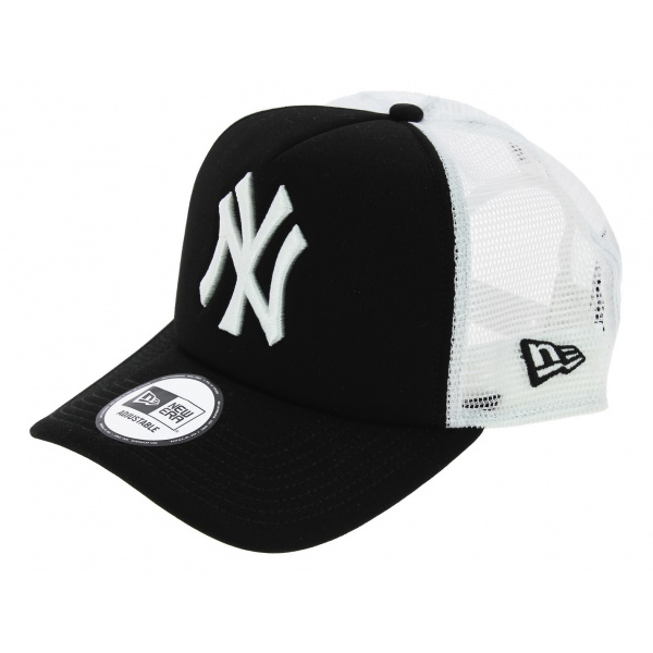 Casquette Trucker Clean Snapback NY Yankees Noir - New Era