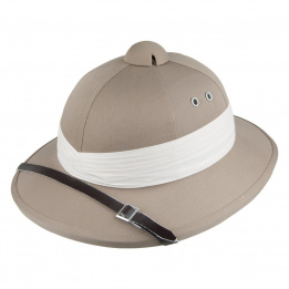Chapeau safari africain colonial