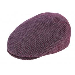 Casquette Plate Honeycomb Coton Rouge - Stetson