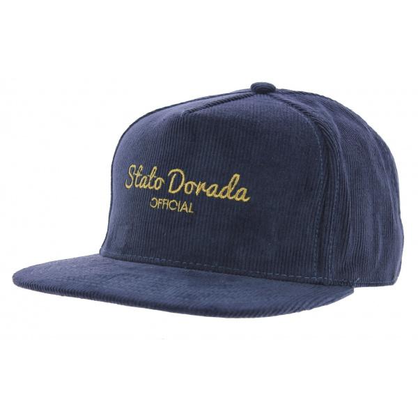 Casquette StrapBack Dorado Coton Bleu - Official