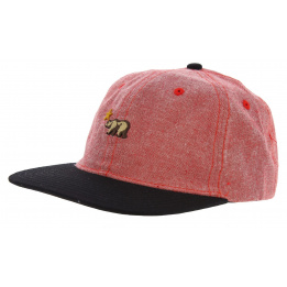 Casquette Strapback CaliforniaDream Coton Rouge - Official