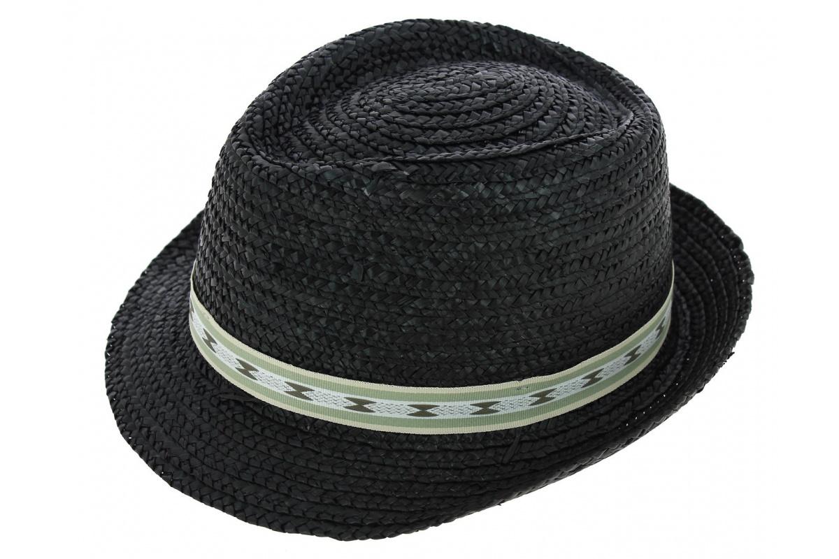 chapeau de paille denver noir chapeau traclet. Black Bedroom Furniture Sets. Home Design Ideas