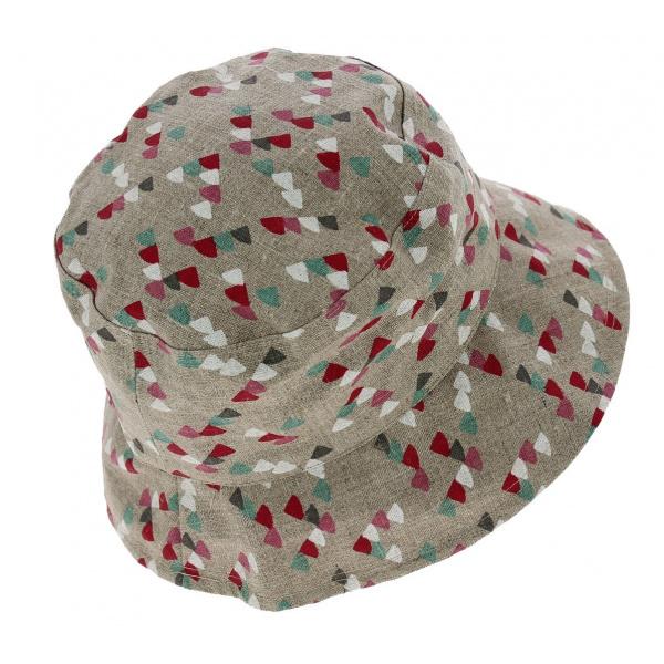 Chapeau Bob de Pluie Telia Coton Beige - Mtm