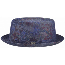 Chapeau Pork Pie Oldmar Denim - Stetson