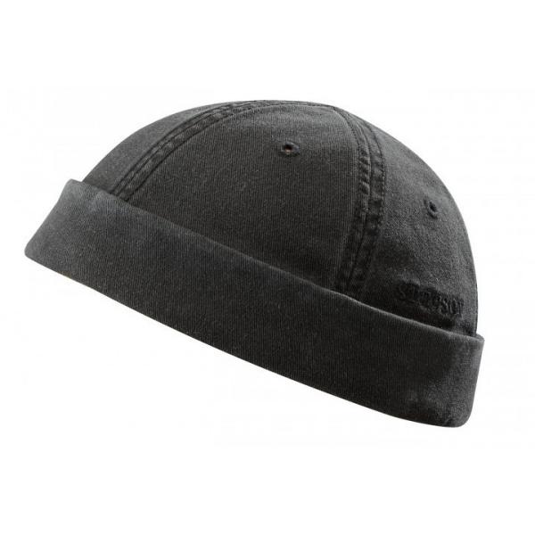 Bonnet Ocala noir Docker par Stetson