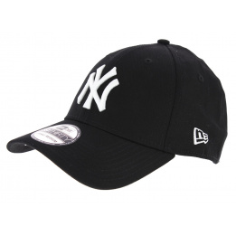 Casquette Fitted 39Thirty League Coton Noir - New Era