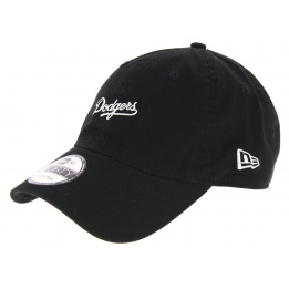 Casquette Strapback Dodgers LA Coton Noir - New Era