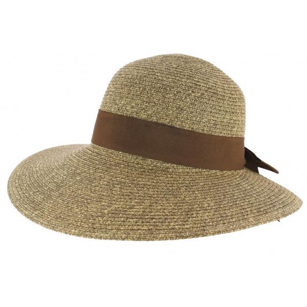 Capeline roza straw chapeau traclet - Deco chapeau de paille ...