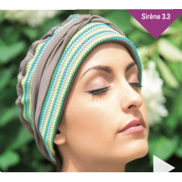 Turban chimiotherapie Sirene