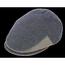 Casquette Plate Unchain Coton Bleu & Gris - Marone