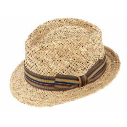 Chapeau Trilby Varadero Paille Naturel - Traclet