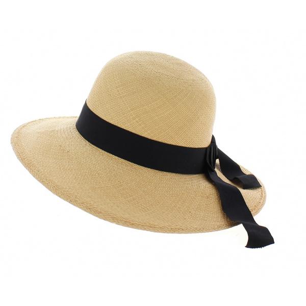 Capeline Panama ruban noir