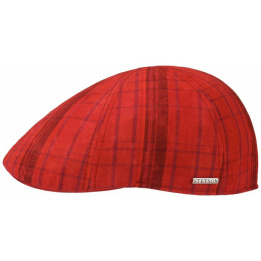 Casquette Stetson Glensfalls rouge