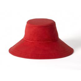 Chapeau rouge asymétrique Floppy - Tilley