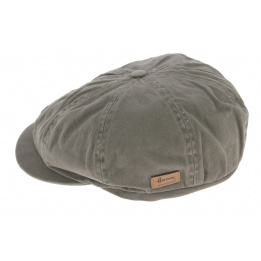 Casquette 8 Cotes Advencer Coton Gris - Herman