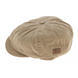 Casquette 8 Cotes Advencer Coton Beige - Herman