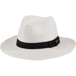 Chapeau Fedora Aveloz  Blanc- Barts