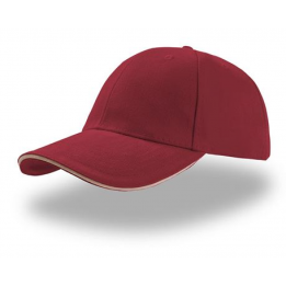 Casquette baseball LIBERTY SIX BORDEAUX