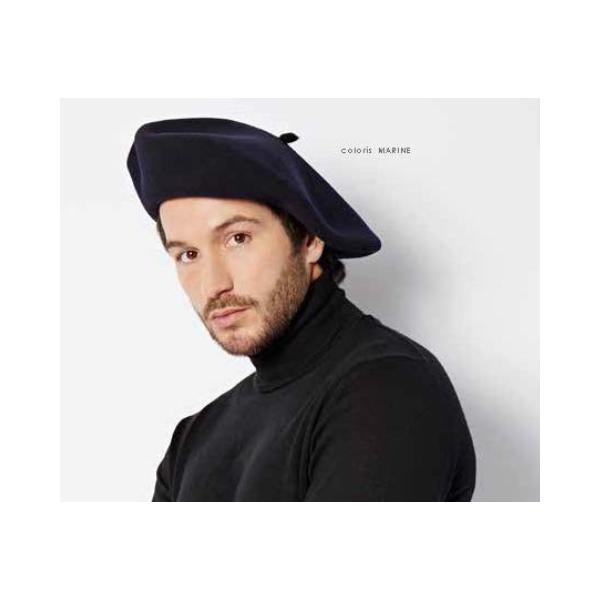 Authentique beret chasseur alpin laulhere noir fa55b00b301