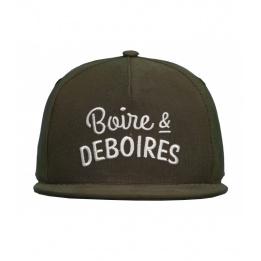 Casquette Snapback Boire & Déboires Qhuit
