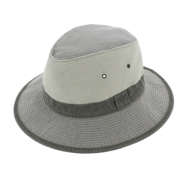 Chapeau Safari Lewa Coton Gris - Crambes