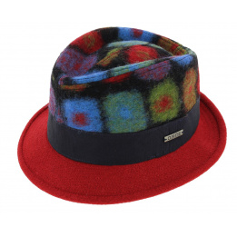 Chapeau Trilby San-Marin Laine - Traclet