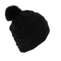 Bonnet Foxy noir