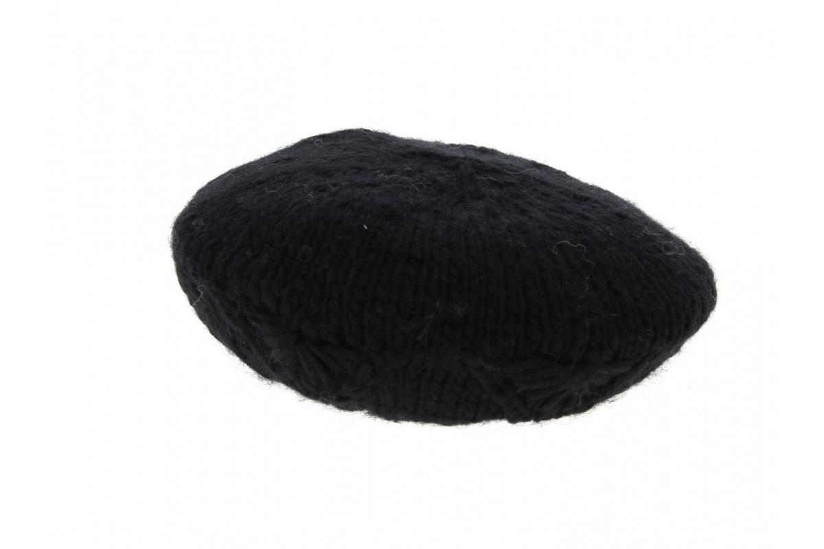 beret tricot noir achat beret tricot. Black Bedroom Furniture Sets. Home Design Ideas