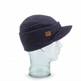 Casquette Bonnet The Burns marine - Coal