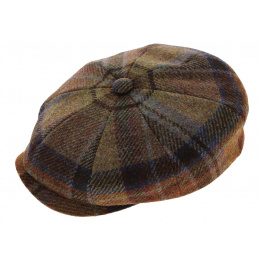 Casquette Liszt Virgin Wool Check