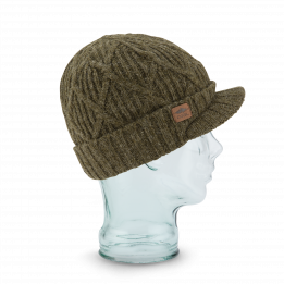 Bonnet The Yukon brim olive Coal