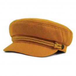 Casquette marin jaune ashland brixton