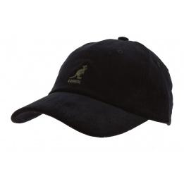 Casquette Strapback Cord Coton Noir - Kangol