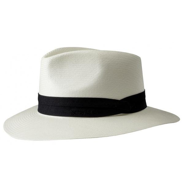 Chapeau Panama blanchie Jefferson - Stetson