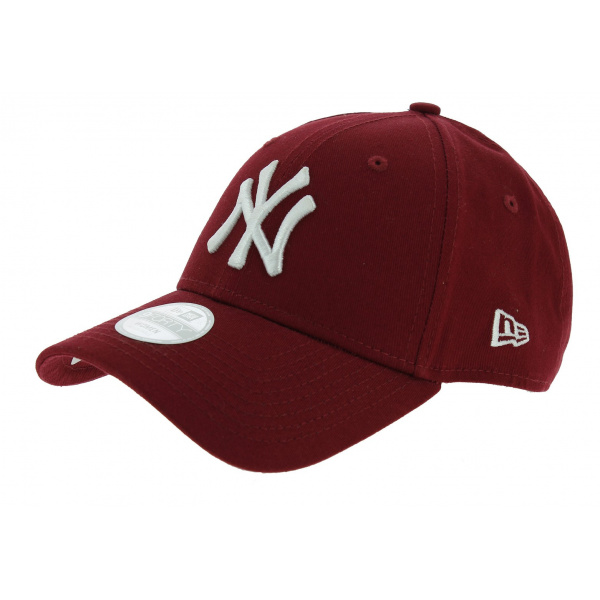 casquette baseball essential 940 ny bordeaux new era. Black Bedroom Furniture Sets. Home Design Ideas