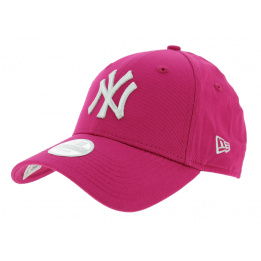 Casquette Strapback Essential League Coton Rose - New Era