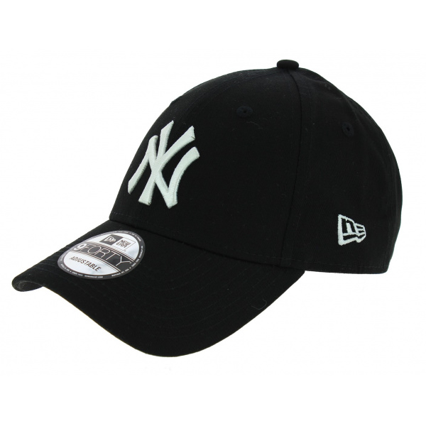 v ritable casquette enfant baseball new york noir new era. Black Bedroom Furniture Sets. Home Design Ideas