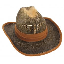 Chapeau Cowboy Gringo Loco Paille Papier - Traclet