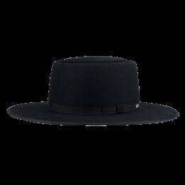 Chapeau Style Andalou The Tennessee Feutre Laine Noir - Coal