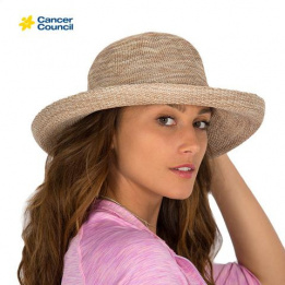Chapeau CANCER COUNCIL Classic Breton Style Ladies Hat