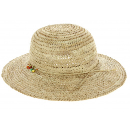 Straw hat woman