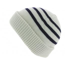 Bonnet Marin Duncan Rayures Blanc - Traclet